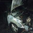 На Сумщине неизвестные сожгли автомобиль депутата горсовета