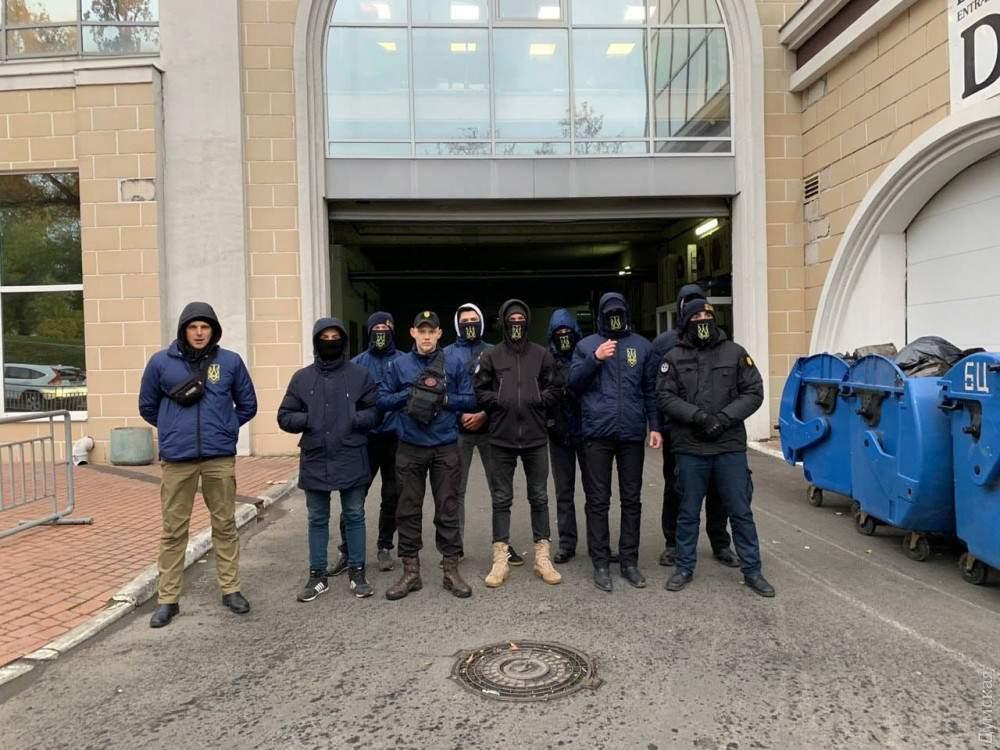 Активисты Нацкорпуса в Одессе сорвали собрание партии Мураева