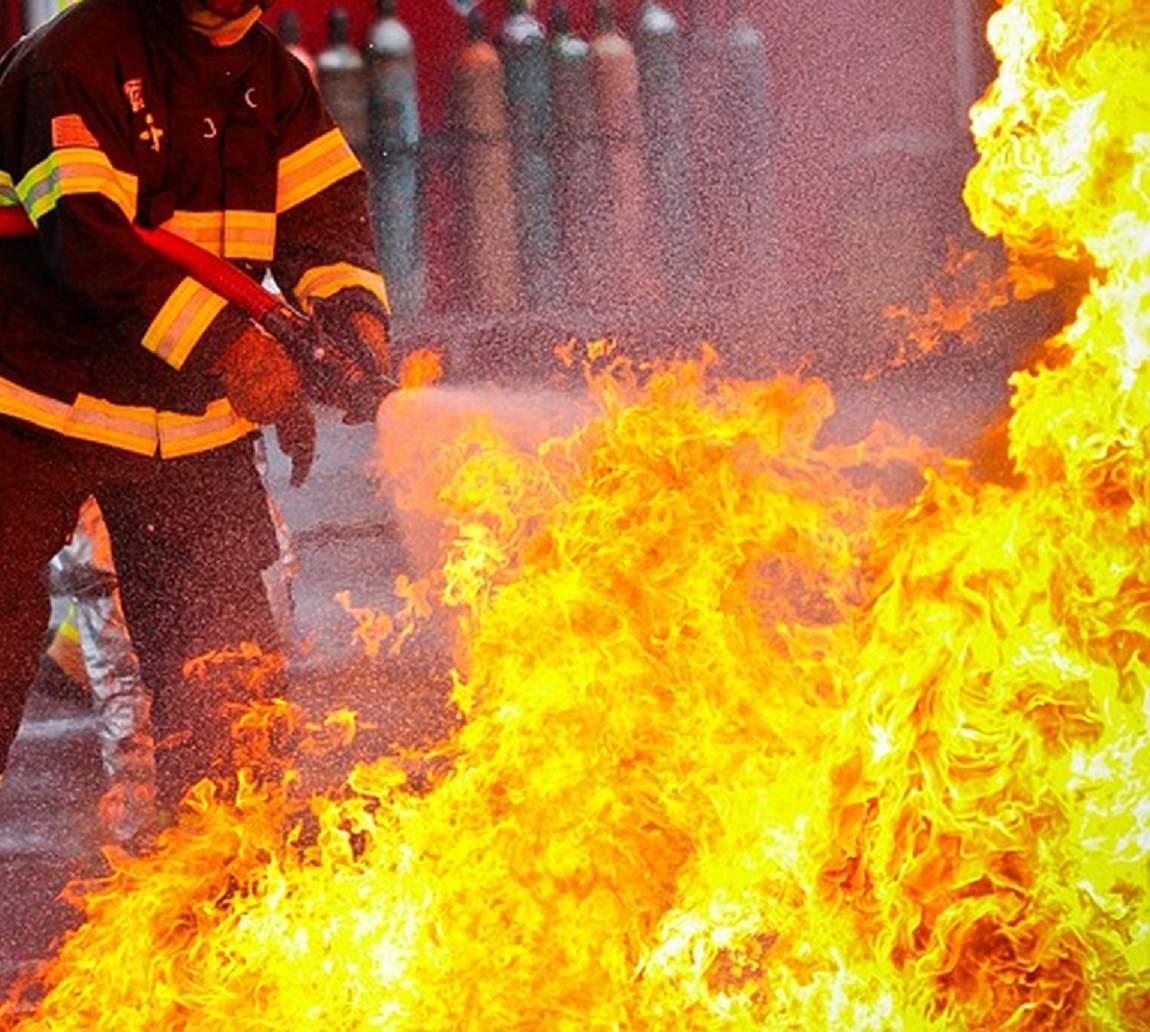 В Одесской области произошёл пожар в отеле