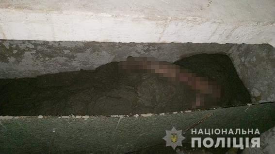На Николаевщине неизвестные убили мужчину, залили труп бетоном и оставили его в подвале