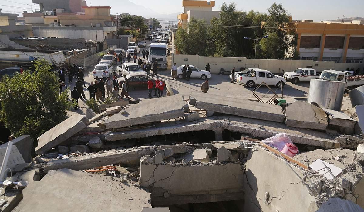 В Ираке произошло мощное землетрясение: 550 пострадавших