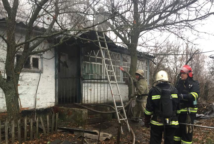В Полтавской области в результате пожара погибла женщина
