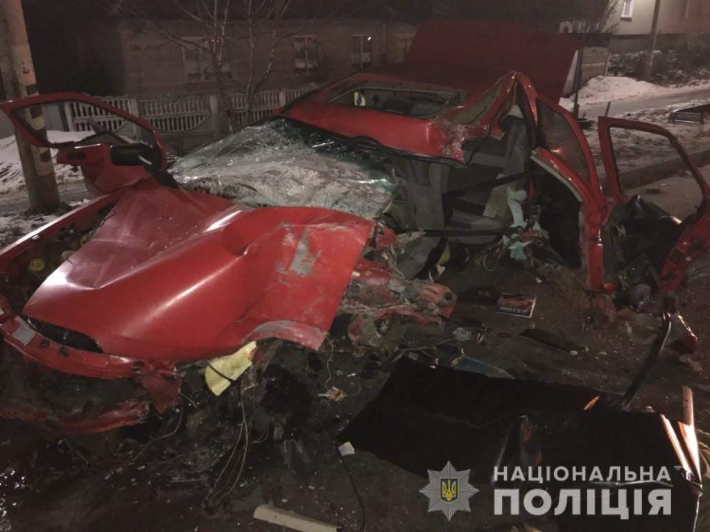 На Киевщине в результате ДТП погиб человек