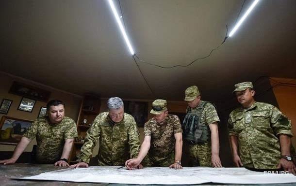 В Украине военное положение вступило в силу