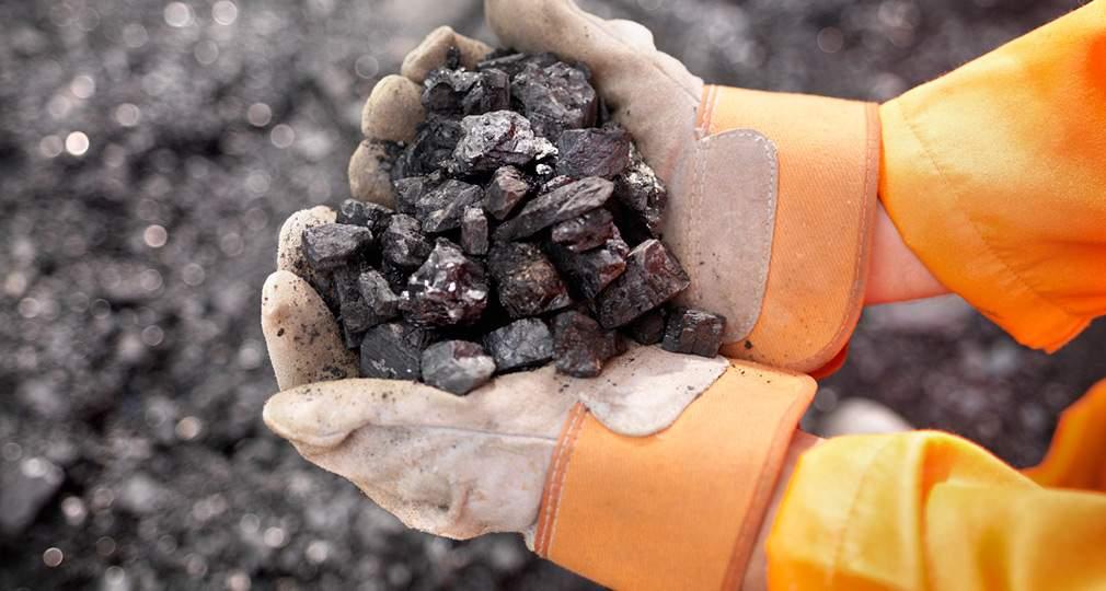 В Украине на 9,8% уменьшилась добыча угля