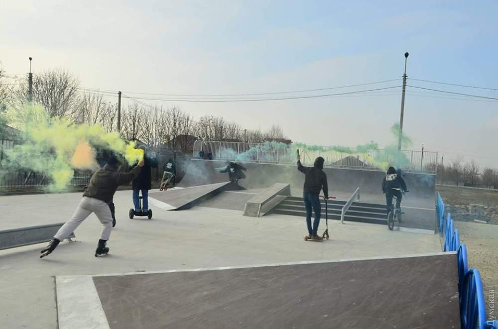 Современный скейт-парк появился вблизи Одессы (фото)
