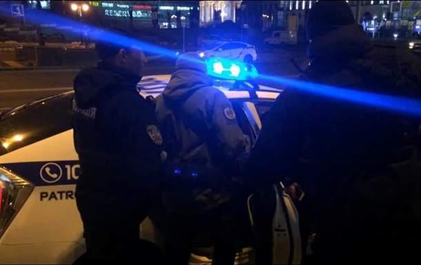 В Кривом Роге сотрудники полиции совершили наезд на человека
