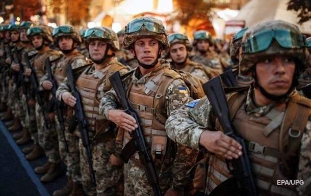 Украинские военнослужащие отмечают свой профессиональный праздник