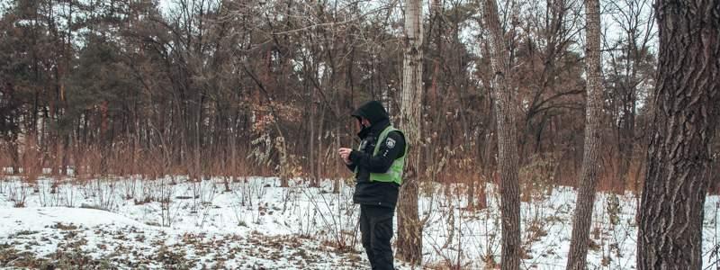 В столице обнаружили замерзший труп человека