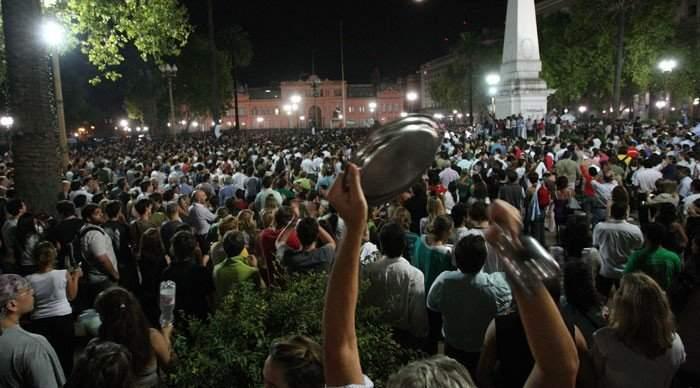 В Аргентине состоялась масштабная акция протеста