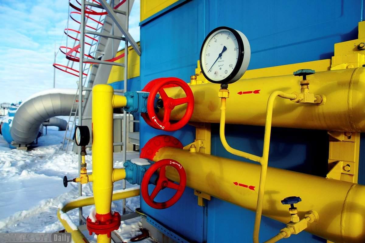 В подземных хранилищах Украины объем газа уменьшился до 50%