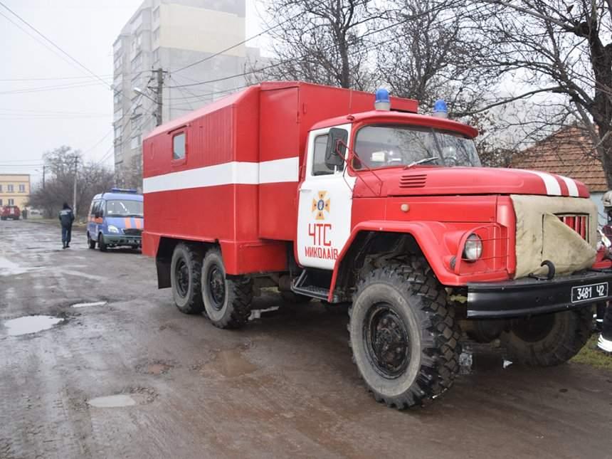 В Николаеве в результате пожара в частном доме погиб владелец (видео)