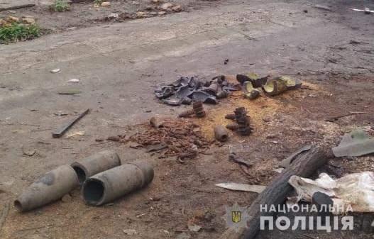 На Херсонщине в частном секторе взорвался снаряд времен ВОВ: есть погибший (фото)