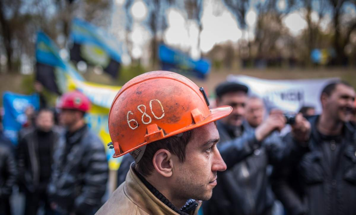 На Львовщине шахтеры из-за задолженности по зарплате устроили протест под землей