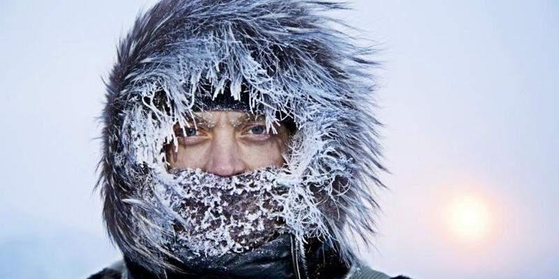 За минувшие сутки от обморожений в Украине пострадали 13 человек