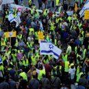 В Израиле люди, недовольные повышением цен на продукты, устроили акцию протеста