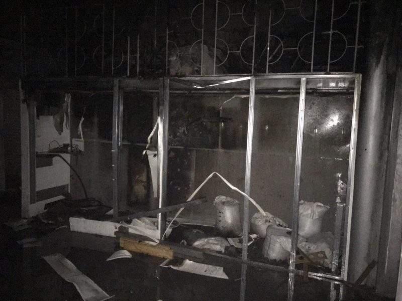 В Запорожье произошел пожар: Вспыхнула СТО