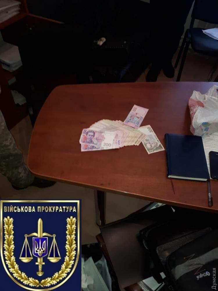 В Одесской области чиновник погорел на взятке