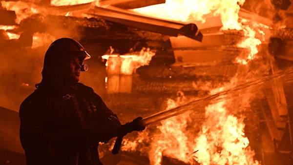 В Карпатах горела гостиница. Есть погибшие