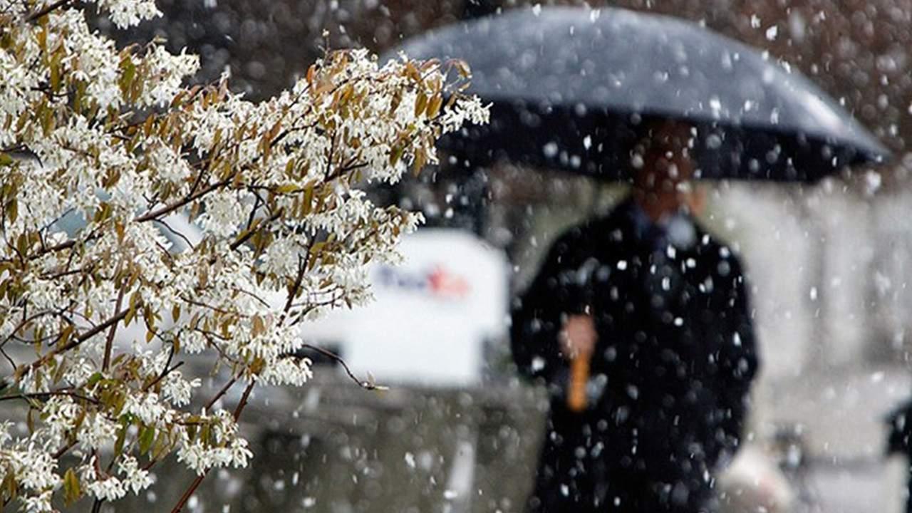 В Украине на большей части территории пройдет снег с дождем