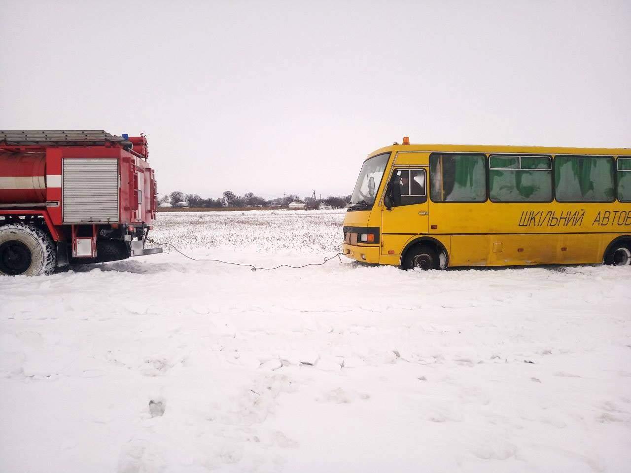 Непогода в Киеве и области привела к множеству ДТП (фото)