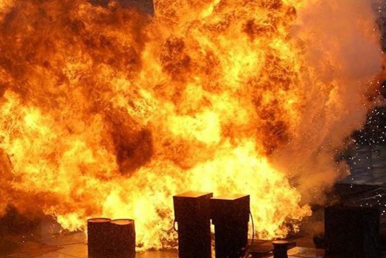 В Запорожье в одном из заведений произошёл пожар