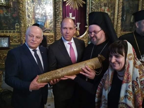 В Сети опубликовали фотографию Томоса для Православной церкви Украины