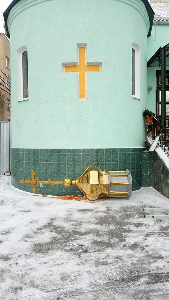 После подписания Томоса в Виннице выселили общину храма