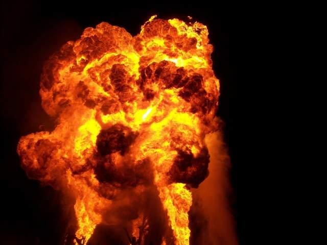 В Запорожье произошёл серьёзный пожар