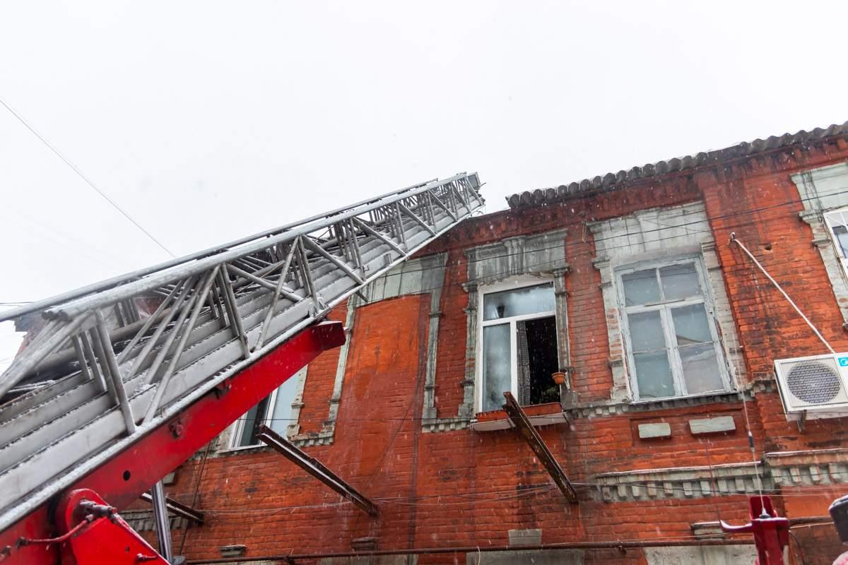 В Днепре произошёл масштабный пожар