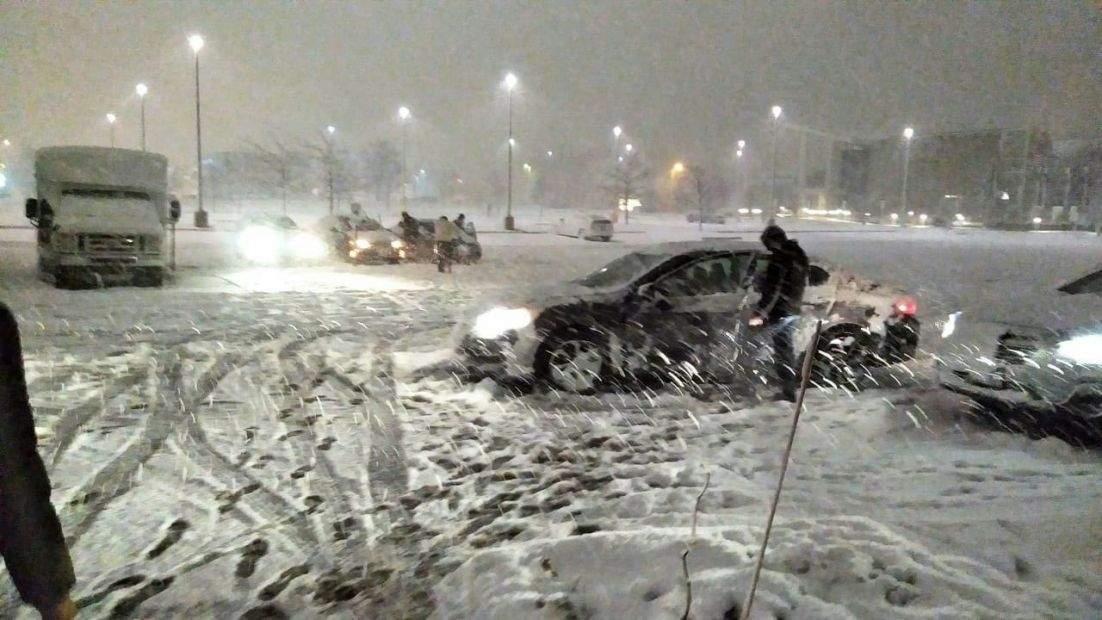 Снегопады в Европе: за последнюю неделю погибли 13 человек
