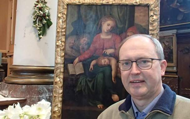 В бельгийской церкви похитили картину, автором которой может быть Микеланджело