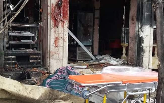 В Сирии в ресторане, где находились американские солдаты прогремел взрыв (фото)