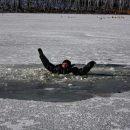 В Днепре мужчина провалился под лёд и утонул