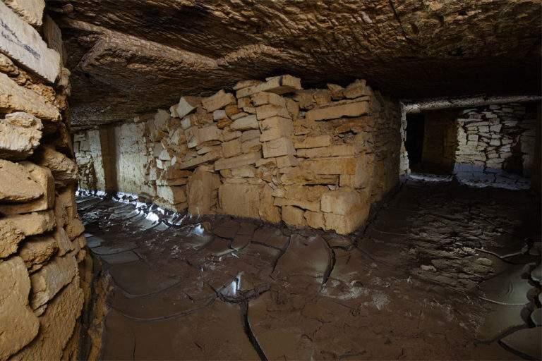 В одесских катакомбах обнаружили человеческие фрагменты