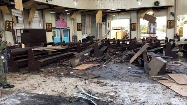 В результате мощного взрыва на Филиппинах погибли 20 человек. Более 100 пострадавших