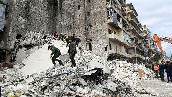 В Сирии произошло обрушение дома. Много погибших