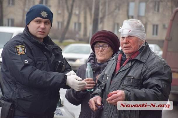 В Николаеве депутат за рулём авто попал в аварию. Есть пострадавшие