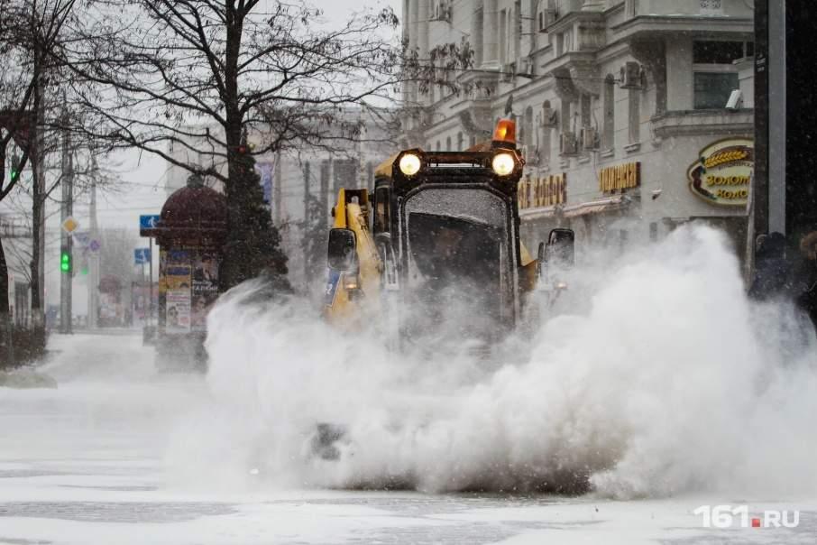 Завтра в столице выпадут значительные осадки в виде снега