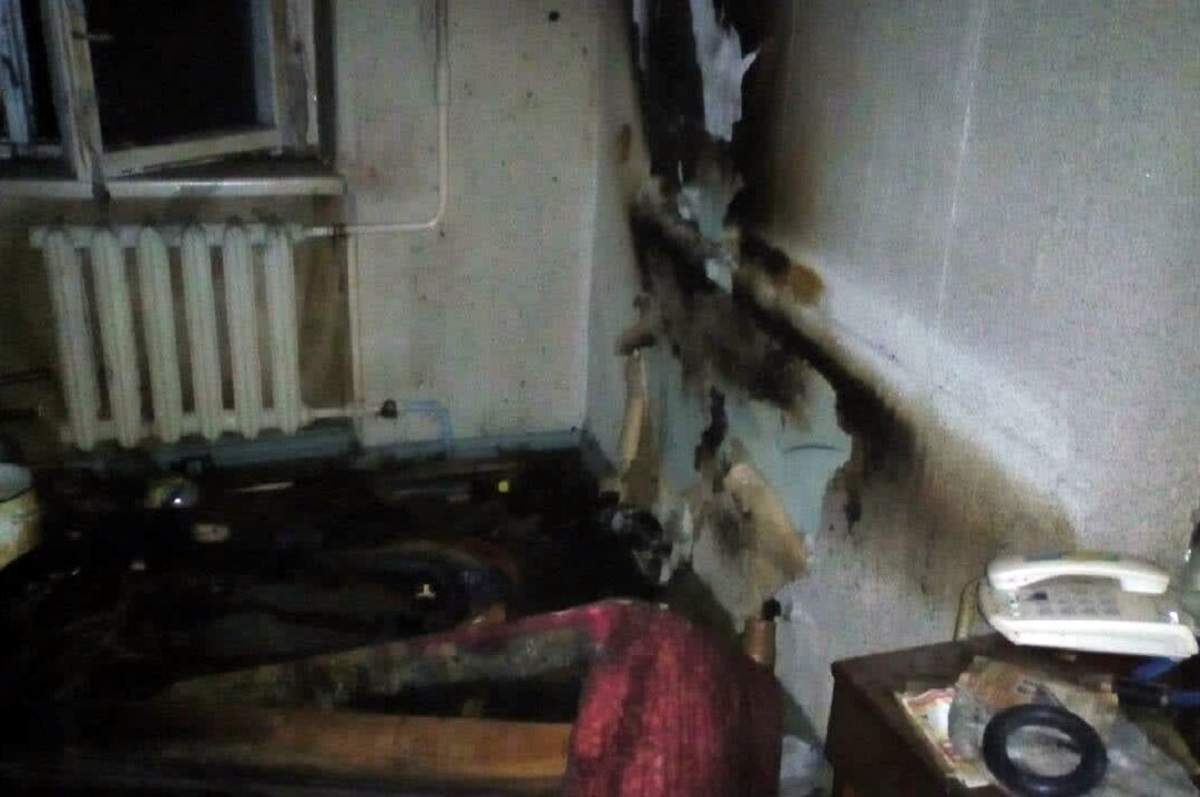 В Днепре вспыхнул пожар в квартире: есть пострадавший (фото)