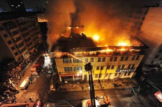 В индийском отеле вспыхнул пожар: около 17 человек погибли (видео)