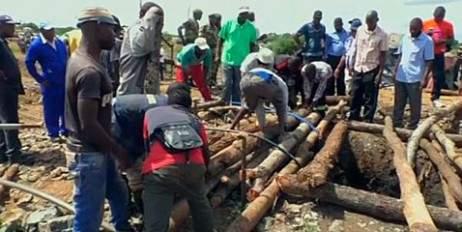 В Зимбабве из-за затопления шахт погибли десятки людей
