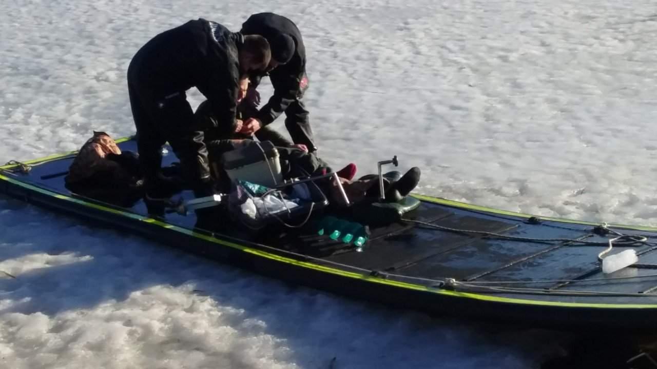 На Днепропетровщине 6 человек провалились под лед