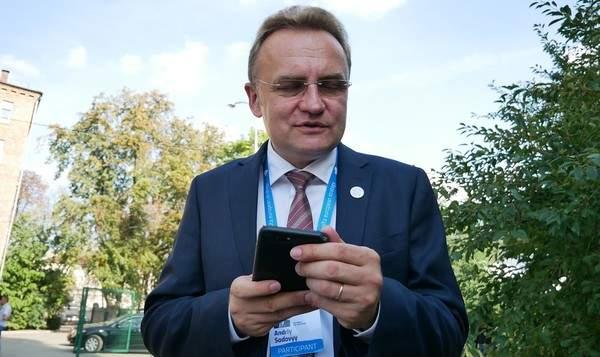 Председатель Львовского облсовета заявил, что Садовой претендует на пост президента
