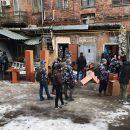 В Харькове банда неизвестных ворвались в офис и вынесли оттуда все имущество