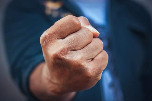 В Днепре на председателя окружной комиссии напали представители организации С14