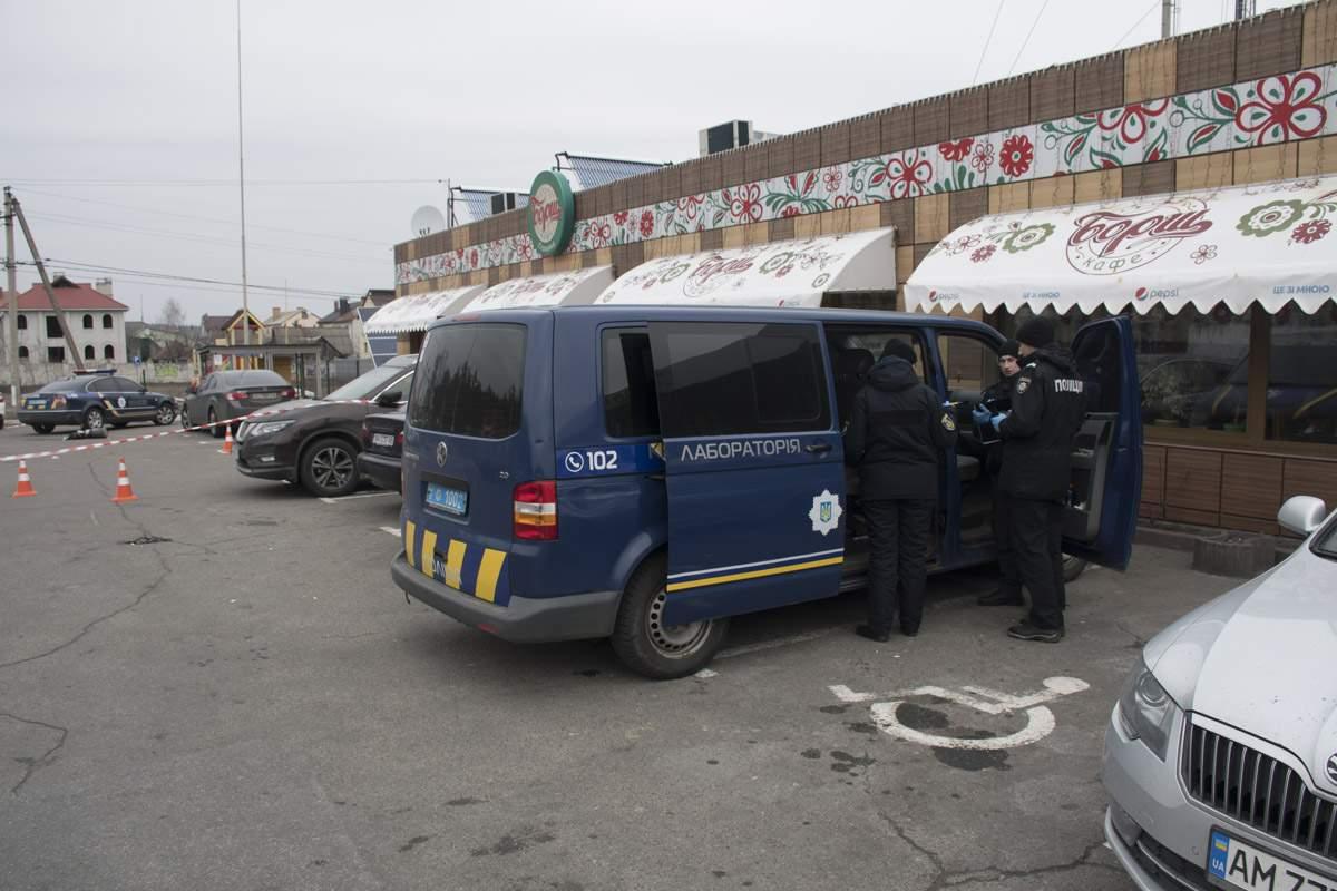 На Киевщине произошла стрельба. Есть пострадавшие