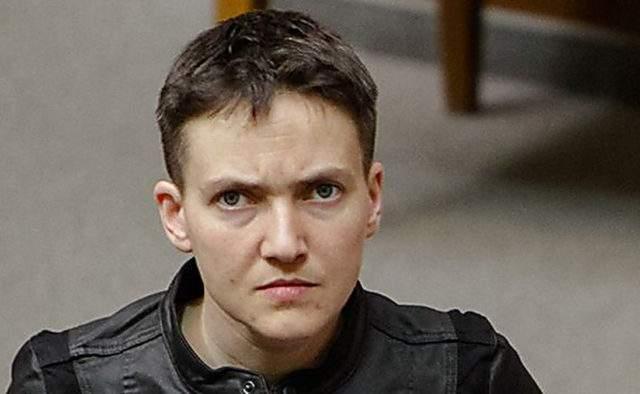 Савченко прокомментировала свое желание устроить теракт в ВР