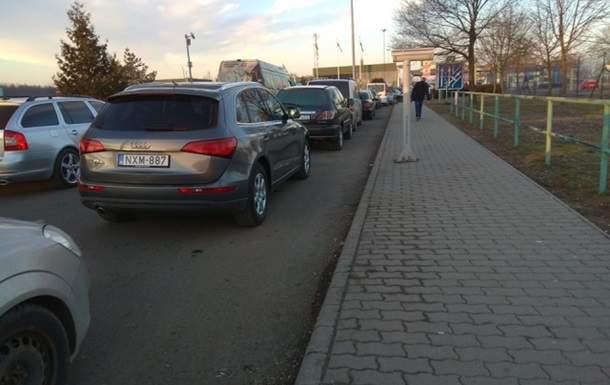 Украинцы не могут попасть в Венгрию