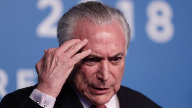 Бывшего президента Бразилии арестовали по обвинению в коррупции